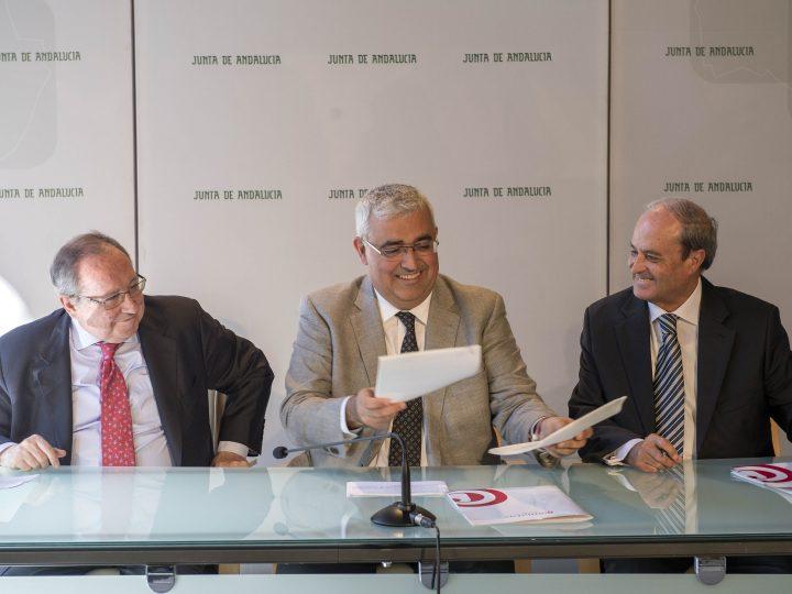 Firma de convenio con la Cámara de España para impulsar la internacionalización